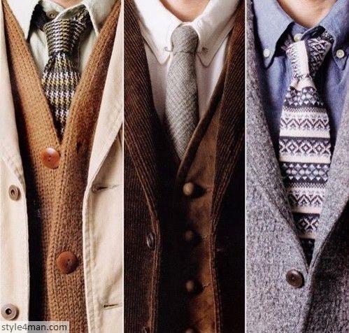 Модные мужские галстуки