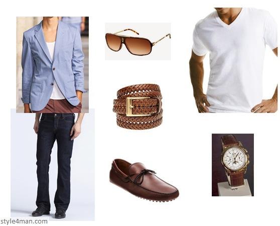 С чем носить коричневый вельветовый пиджак