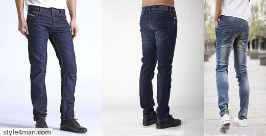 Мужские зауженные джинсы: как выбрать подходящую модель