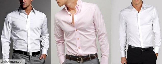 Классическая мужская сорочка