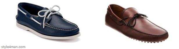 Мужская обувь с отделкой