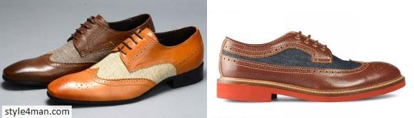 креативная мужская обувь