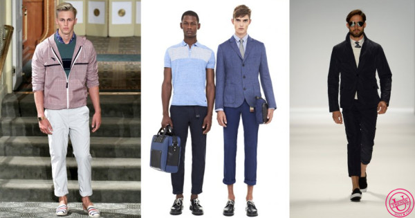 модные мужские брюки: