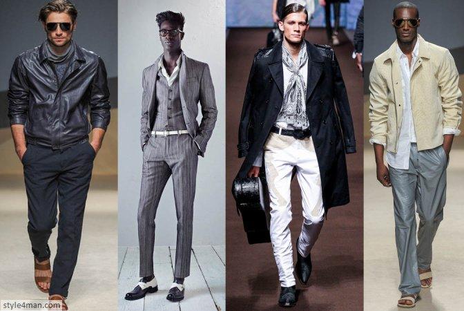 мужская мода весна-лето 2014
