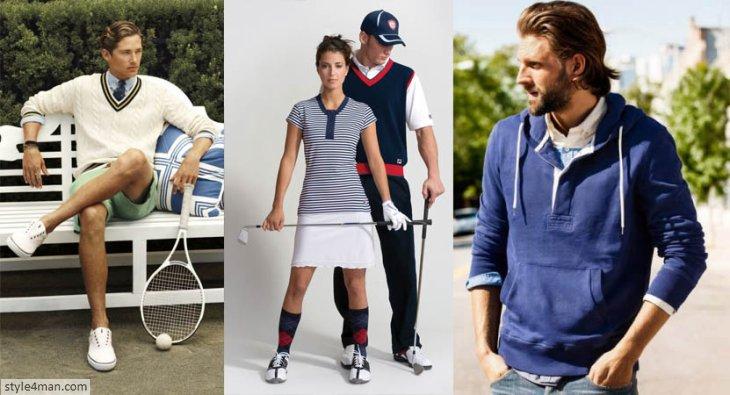 Одежда в стиле спорт-кэжуал