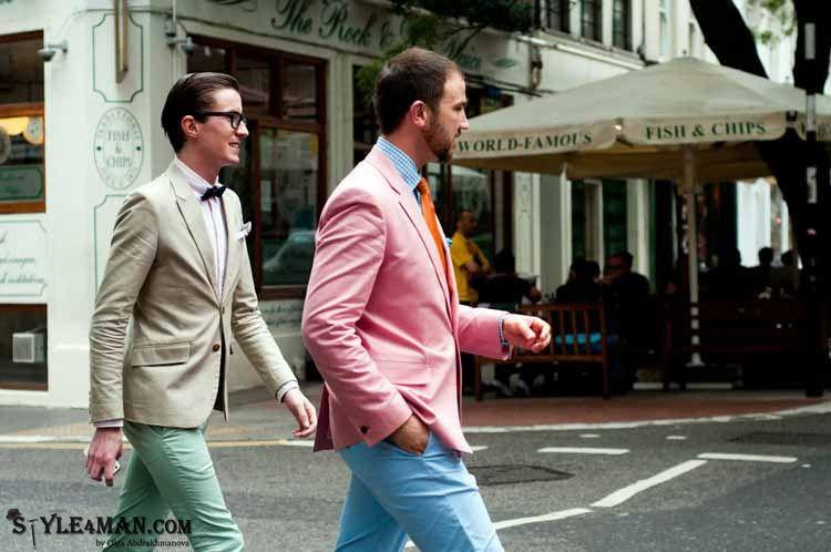 Модные мужские цвета