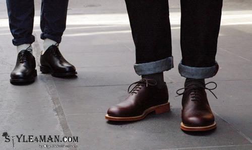 Летние мужские туфли