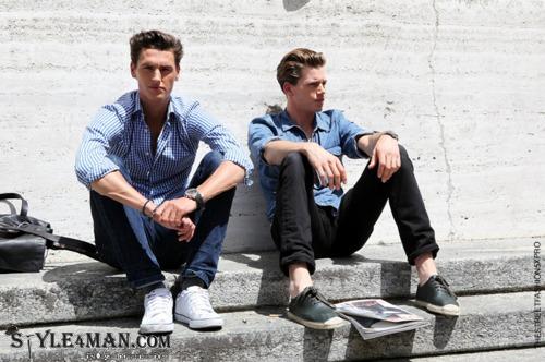Летняя мужская обувь