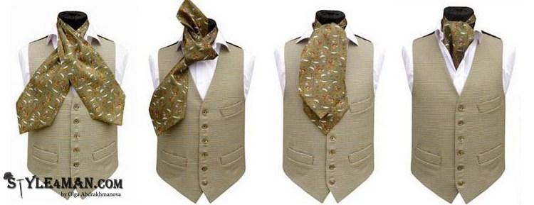 мужской шейный платок
