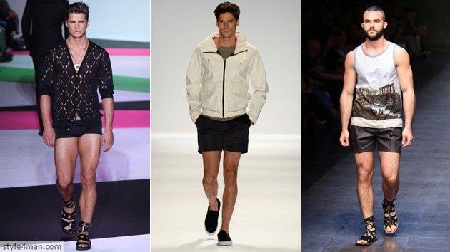 Модные мужские шорты