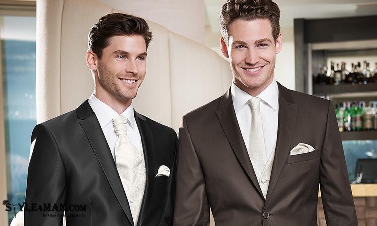 Свадебная мужская сорочка
