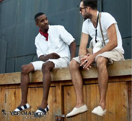 Модная летняя мужская обувь