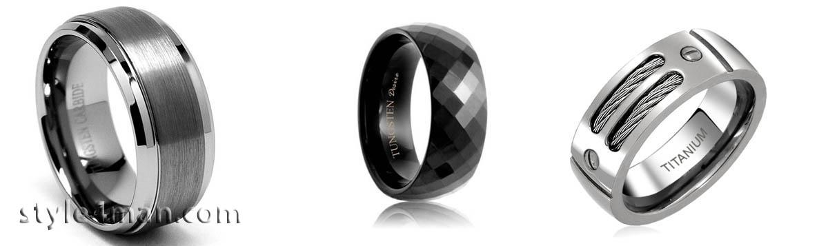 Мужские кольца фото