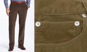 Вельветовый брюки