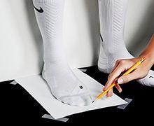 Техника мерки ног