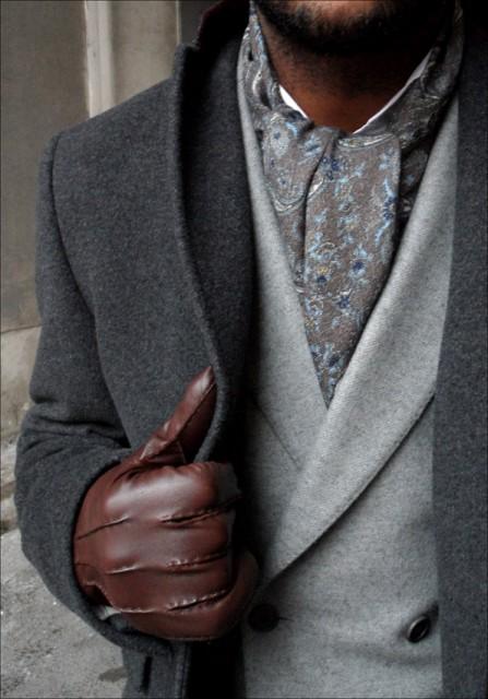 шейный платок ascot выкройка и пошив