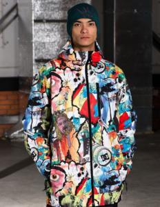 Спортивная куртка для сноуборда