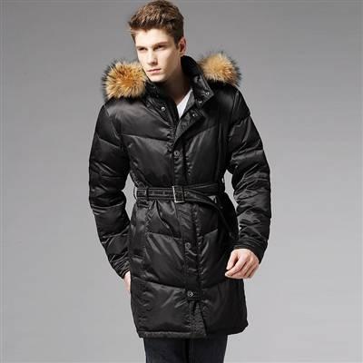 Пуховики мужские зимние длинные