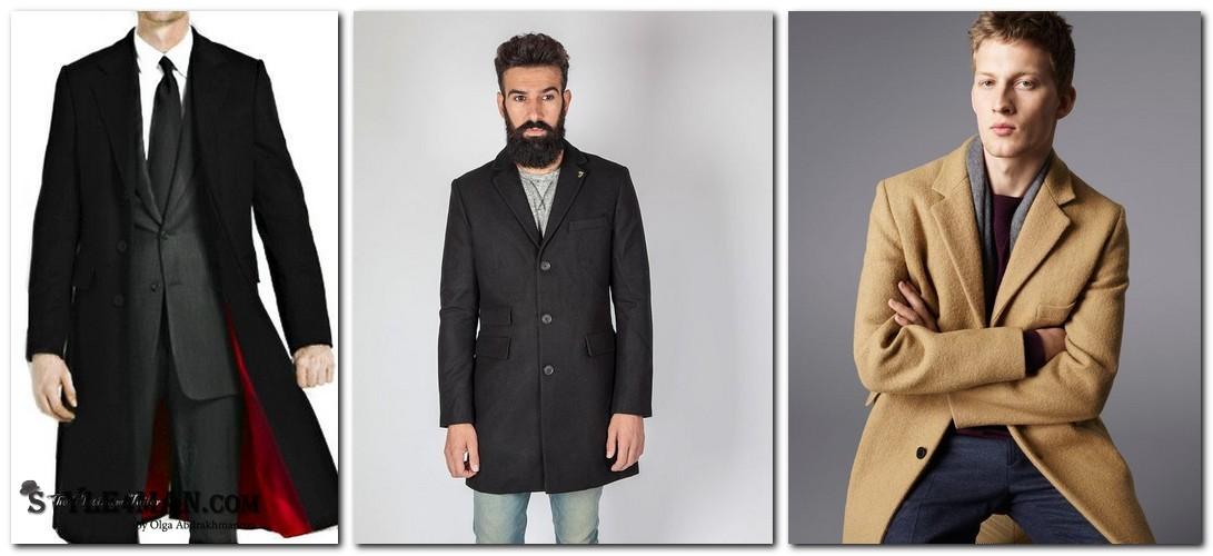 Мужское пальто кромби