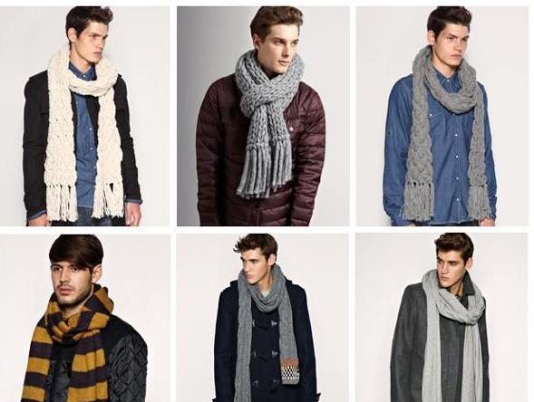 Способы завязывания шарфа