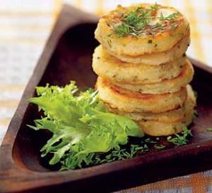 Рецепт картофельных оладьев