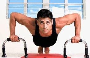 Накачать грудные мышцы на турнике