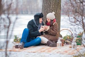 Зимой устроить пикник на природе