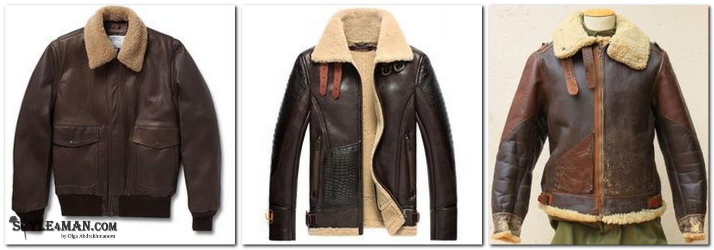 мужская зимняя куртка Пилот