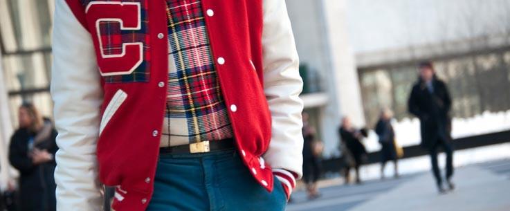 Модная клубная куртка