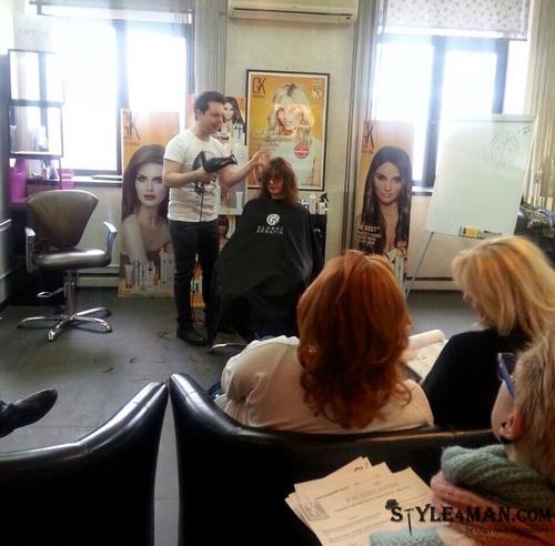 Стилист-парикмахер Бахарев