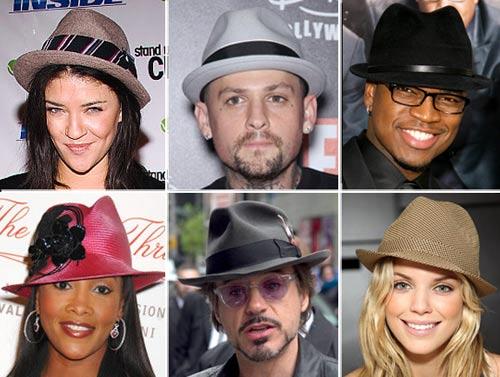 Шляпы трилби