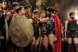 Фильм «300 спартанцев»