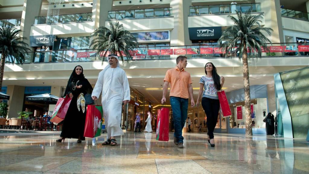 Шоппинг в Арабских Эмиратах