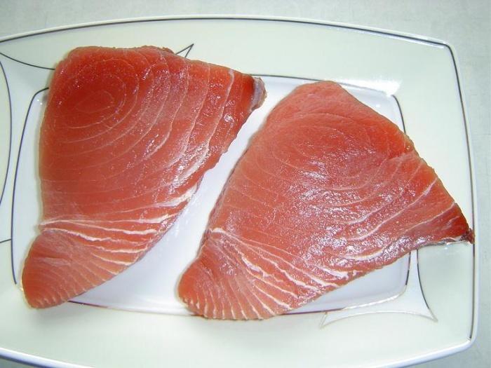 Как приготовить салат с филе тунца