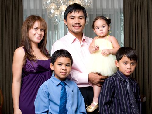 Семья Мэнни Пакьяо