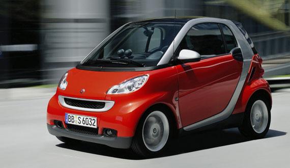 Самые экономичные автомобили Mercedes Smart