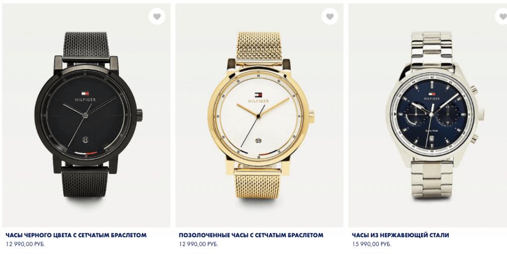 Tommy Hilfiger мужские часы