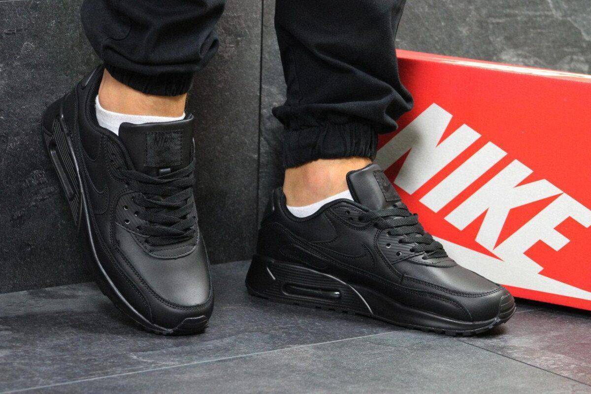 кожаные кросовки