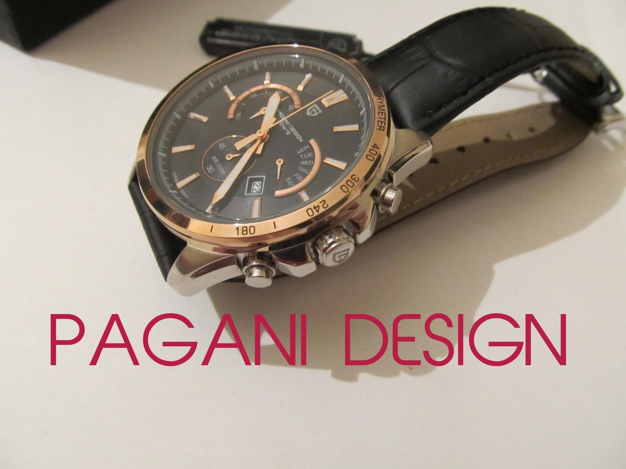 Часы Pagani Design