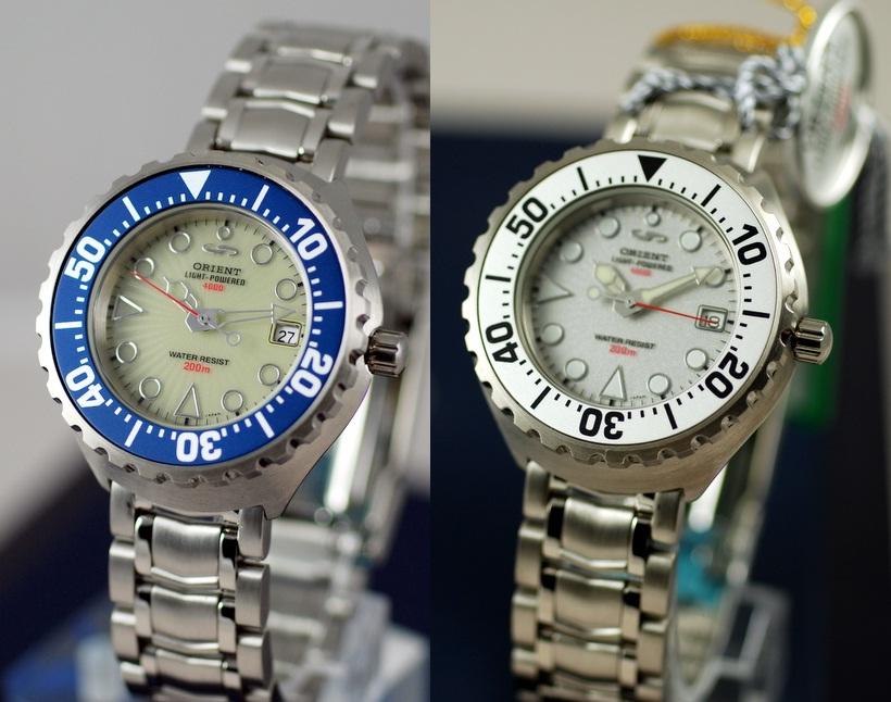 мужские часы ориент Light Powered 4000