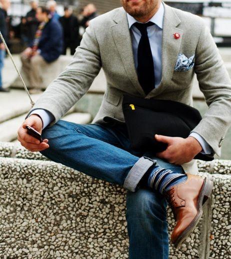 Бизнес кэжуал галстук