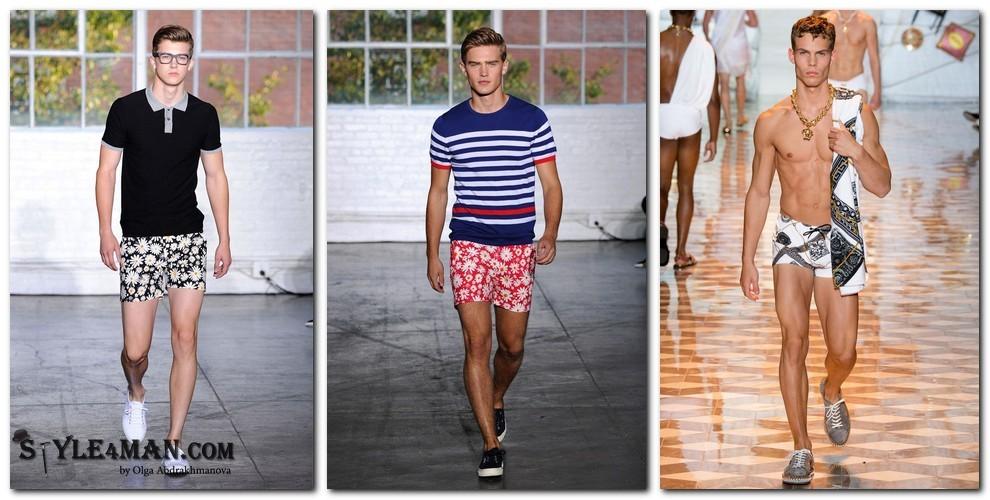 Мужская мода весна лето 2015