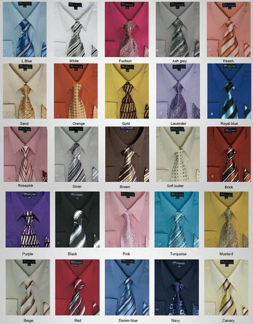 Однотонные рубашки