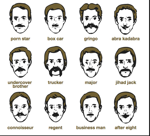 Типы усов