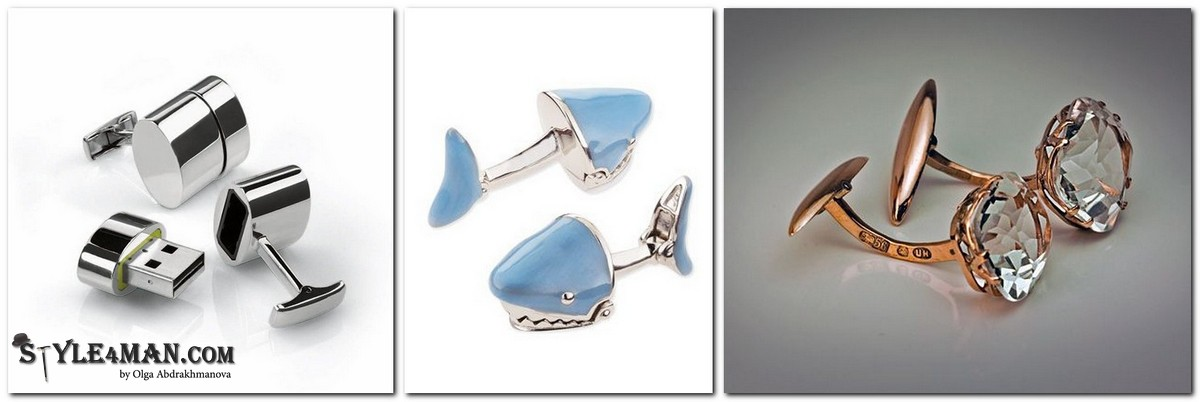 Запонки кит