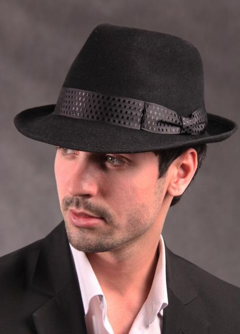 Коричневая мужская шляпа трилби когда-то была... Все шляпы делались поштучно и вручную, а позже