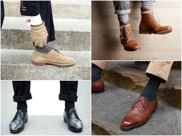 Классические однотонные носки