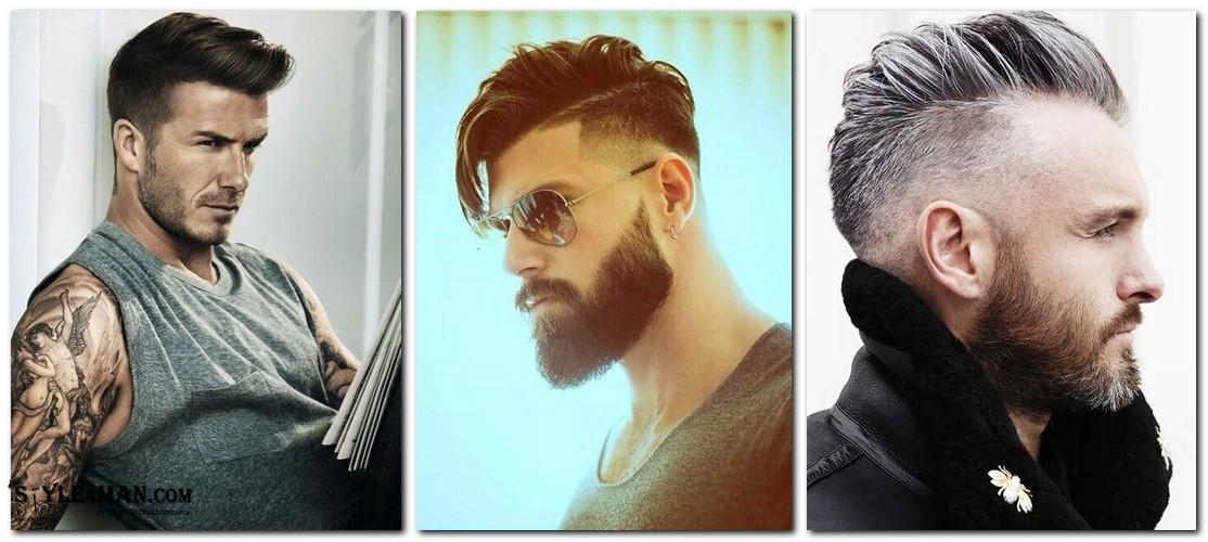 Мужские прически с длинными волосами сзади