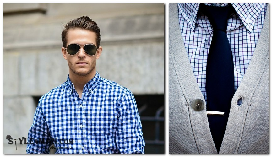 Воротник Button Down