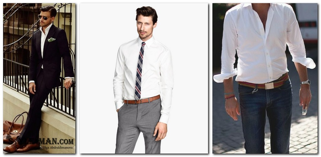 Брюки и рубашка с коротким рукавом мужская - d8199